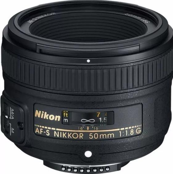 Lente Nikon Nikkor 50mm 1.8 G Afs