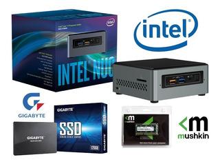 Mini Pc Intel Nuc Pentium Core Ssd 120gb 4gb Wifi Blue