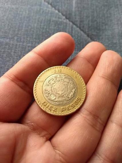 Moneda De 10 Grafica Invertida 2007