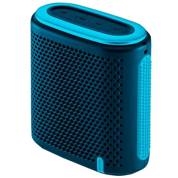Caixa De Som Mini Bluetooth Azul/verde Sp237 Pulse