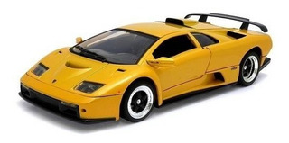 Lamborghini Diablo Gt Amarelo 1:18 Motormax