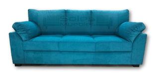 Sillón Sofa De Tres Cuerpos Cuerpos Chenill Premium Tobago 3
