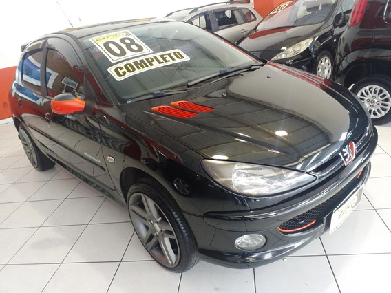 Peugeot 206 Moonlight 1.4 Flex 2008 Completo