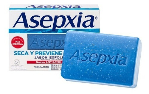 Asepxia Jabón En Barra Exfoliante X 100grs