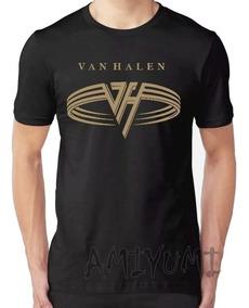 Camiseta Van Hallen Camisa Banda Rock