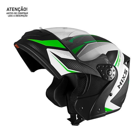 Capacete De Moto Robocop Mixs Gladiator Neo Lançamento - Com Design Moderno Em Diversos Tamanho E Cores