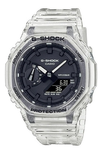 Imagen 1 de 1 de Pre-compra* Reloj Casio G-shock Youth Ga-2100ske-7 Skeleton
