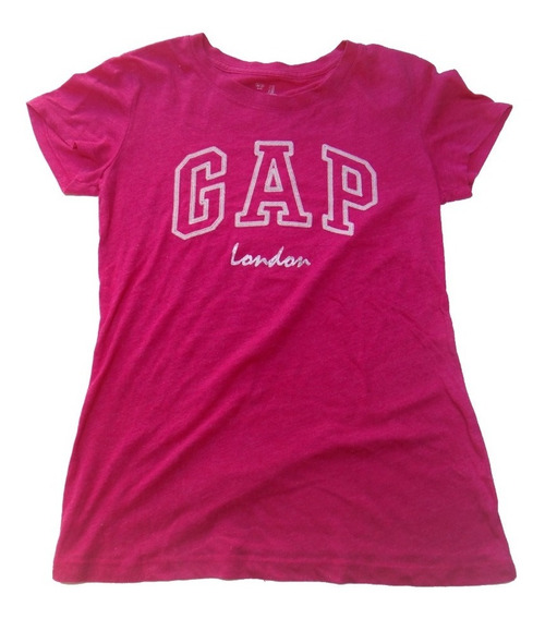 Remera Gap Original Rosa Talle Xs Mujer