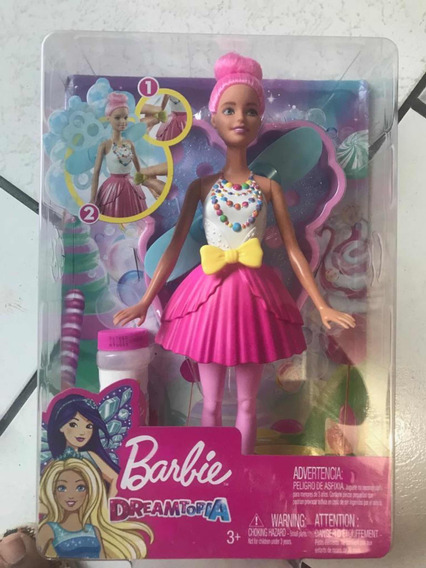 Barbie Fada Dreamtopia - Branca Com Cabelo Rosa