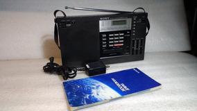 Radio Sony Icf-2001 + Wave Handbook +fonte Bivolt
