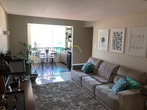 Imagem 1 de 21 de Apartamento Com 3 Dorms, Marapé, Santos - R$ 480 Mil, Cod: 2370 - V2370