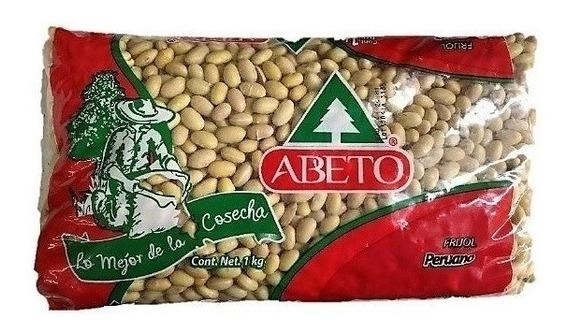 Frijol Peruano Marca Abeto Bolsa De 1kg
