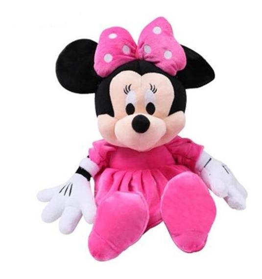 Minnie Boneco Pelúcia 30 Cm Musical Pink