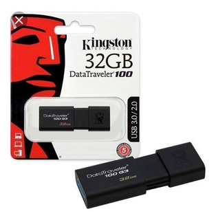 Oferta Pendrive Kingston 32gb 3.1 Dt100g3 Datatraveler