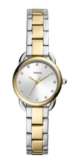 Relógio Fossil Feminino Tailor Mini Preto Es4498/1kn