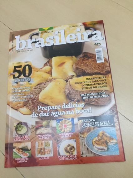 Revista Culinária Brasileira 2 Receitas Sobremesa Carne H575