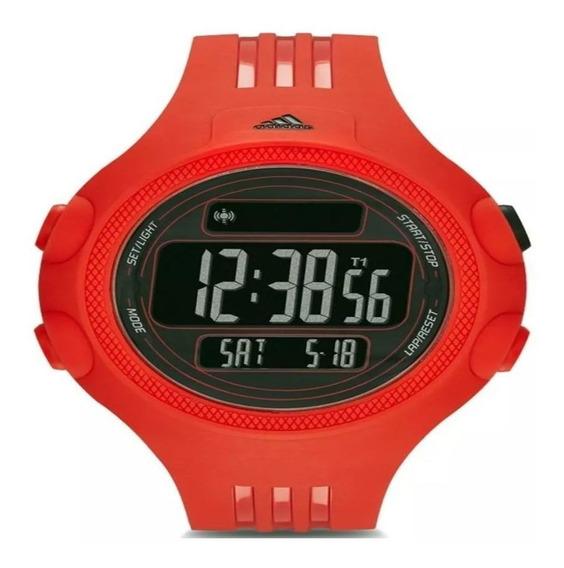 Relógio adidas Masculino Digital Esportivo Vermelho Adp6084