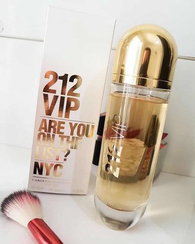 Imagem 1 de 3 de Perfume Carolina Herrera 212 Vip Feminino 80ml