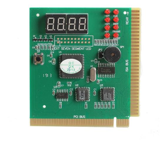 4-digit Display Lcd Pc Analyzer Placa De Diagnóstico Post