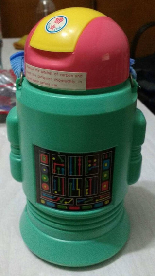 Termo Cantimplora Retro Forma Robot Lion Star Indonesia