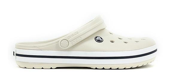 Crocs Band Color Pastel Stucco White Nuevas