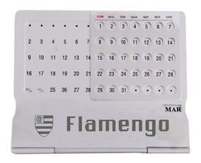 Calendário Permanente Flamengo Escudo