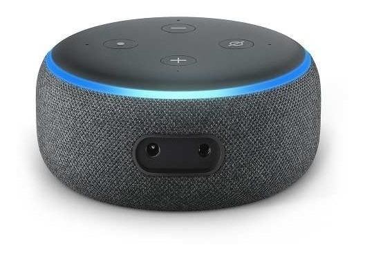 Echo Dot 3 Alexa Em Português Assistente Pessoal Inteligente