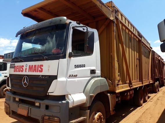 Mercedes Benz Mb 3340 Chassi Longo Plataforma 6x4 R$ 120.000