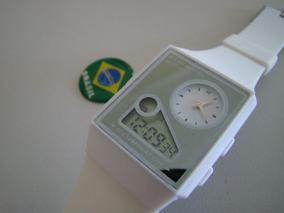 Relógio Slim Digipaper Ana Digi Somente Branco