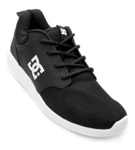 Tênis Dc Shoes Midway Sn Preto Branco