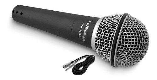Micrófono Dinámico Unidireccional (pro) 58a Cable Balanceado