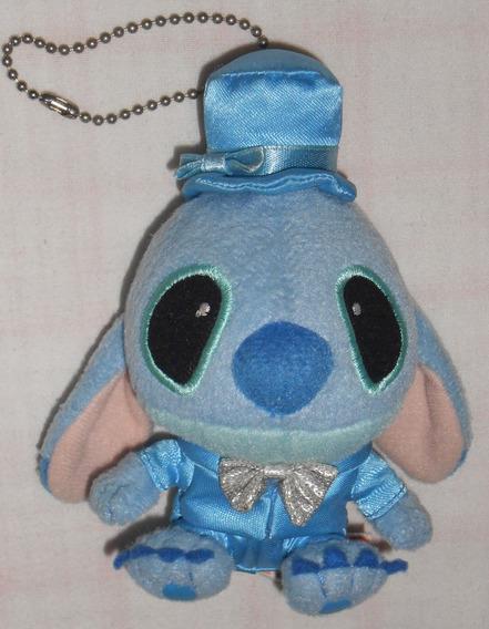 Lilo&stitch - Stitch Vestido De Noivo Chaveiro 12cm Original