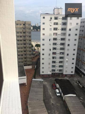 Imagem 1 de 11 de Apartamento Com 1 Dormitório, 60 M² - Venda Por R$ 212.000,00 Ou Aluguel Por R$ 1.350,00/mês - Centro - São Vicente/sp - Ap5685