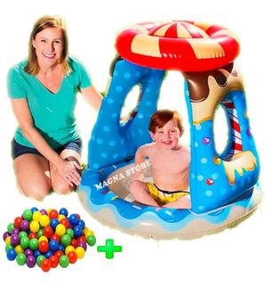 Pileta Pelotero Infantil + 100 Pelotas Candy Bestway 52270