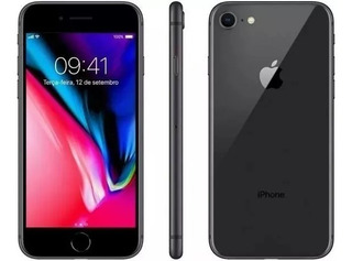 Apple iPhone 8 64gb Tela 4.7 12mp 4g Lte Cinza Original