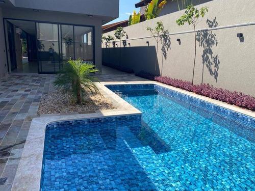 Imagem 1 de 30 de Casa Com 4 Dormitórios À Venda, 416 M² Por R$ 2.300.000,00 - Condominio Golden Park Residence - Mirassol/sp - Ca2721