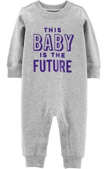 Jumpsuit Carters Nuevo Talla 0 A 3 Meses Baby Future