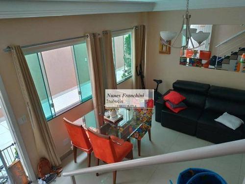 Casa Em Condomínio Com 2 Dormitórios À Venda, 70 M² Por R$ 500.000 - Vila Zelina - São Paulo/sp - Ca0718