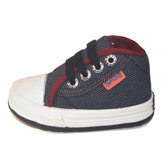 Botita Bebe Jean Azul Small Shoes