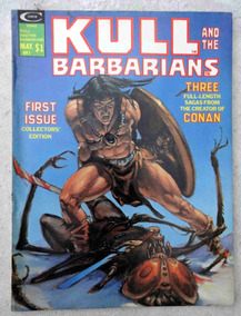 Kull And The Barbarians Nº 1 - Severin - Wally Wood - 1975