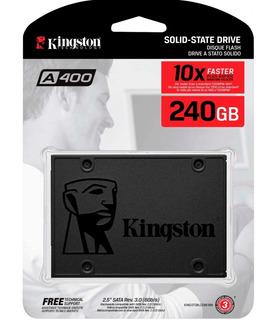 Disco Duro Solido 240gb Kingston Ssd A400 - Mercadopago