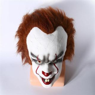 Mascara It Payaso Casa Terror Asesino Disfraz Halloween