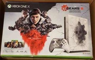 Xbox One 1tb Gears 5 Edición Limitada Combo Nuevo De Paquete