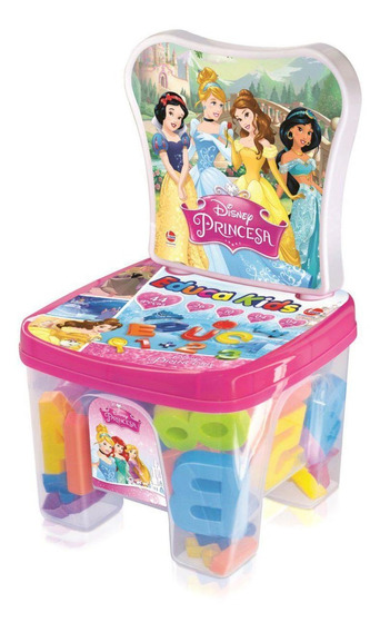 Cadeira Infantil Educakids Princesas Disney - Lider
