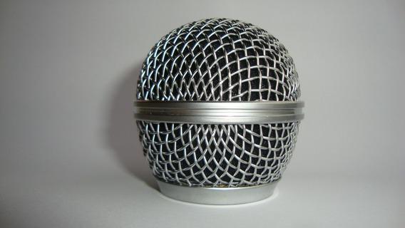 Grelha De Aço Para Microfone Shure Sm 58