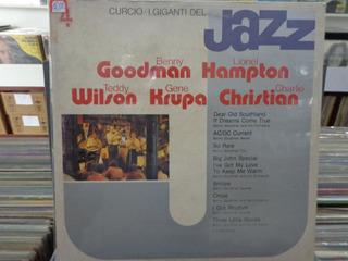 Lp Goodman, Hampton, Wilson, Krupa E Christian - Jazz