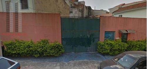 Terreno Residencial À Venda, Mooca, São Paulo. - Te0125