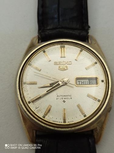 Relógio Seiko 5 Automatic 6119 - 8083 Usado De Coleção