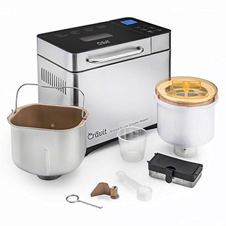Cravit Bread Maker With Free Ice Cream Maker Combo Includes