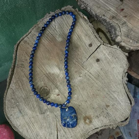 Colar Em Lápis Lazuli